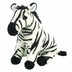 cuddlekins zebra plush stuffed animal animals