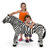 melissa doug zebra plush what's black