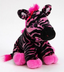 posh pink zebra petting over consistently