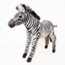 hansa grevy's zebra stuffed plush animal