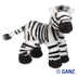 webkinz zebra zany gets noticed striped