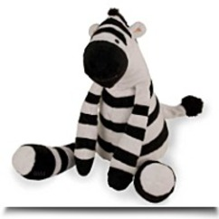 Lambs And Ivy Plush Zebra Toy