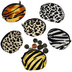 plush animal print coin purses great