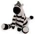 lambs plush zebra safari socks measures