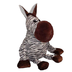 best bungee squeaky pets zebra plush