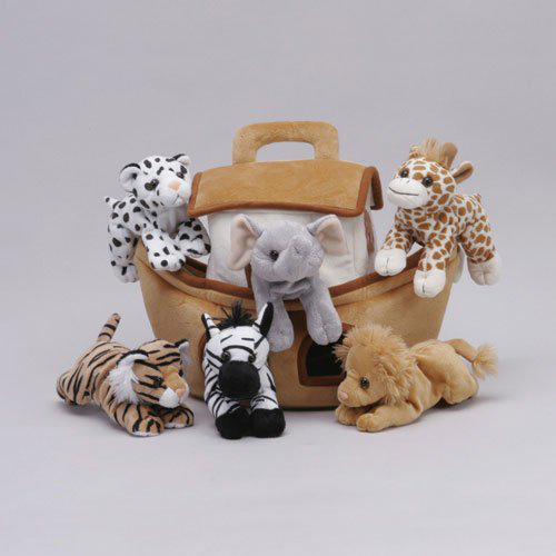 Plush Noahs Ark With Animals