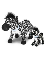 Plush Toy Zulu The Zebra With Mini